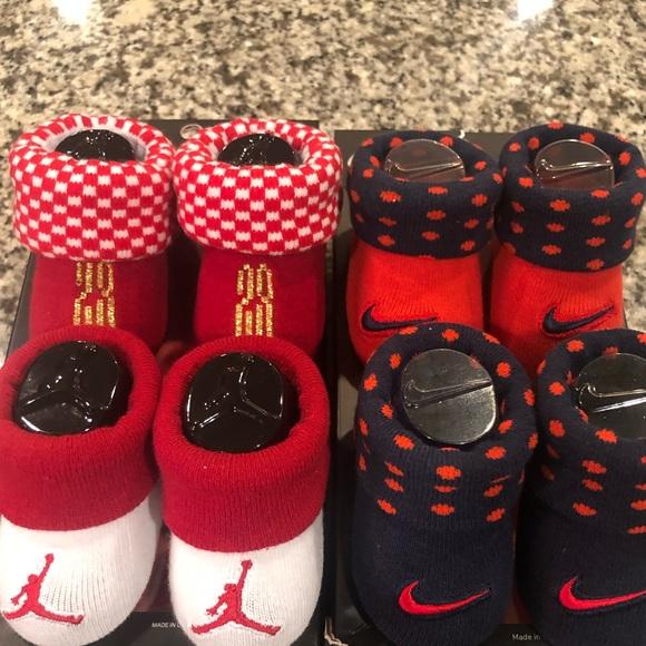 0e491b110 Nike Accessories   Nwt Air Jordan Infant Booties 06 Months   Poshmark
